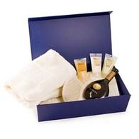 Medium blue hamper