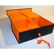 Halloween hamper box inside