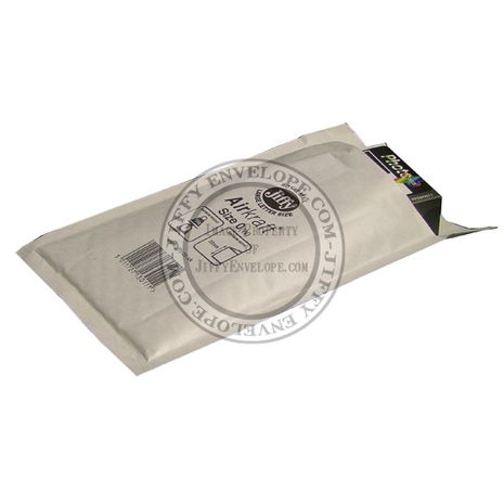 Jiffy Airkraft JL-0 White Bubble Lined Mailer internal size 150mm x 200mm