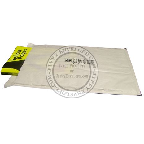 Jiffy Airkraft JL-7 White Bubble Lined Mailer Internal Size 345mm x 445mm