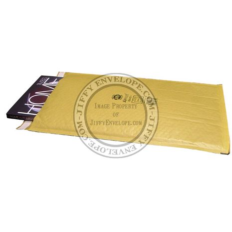 Jiffy Airkraft JL-GO-6 Gold Bubble Lined Mailer Internal Size 295mm x 445mm