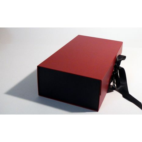 Black and red Gift box